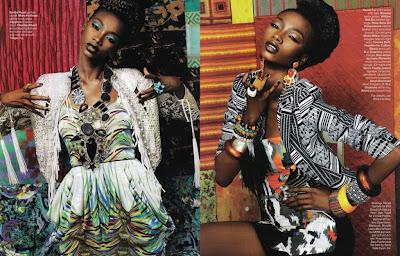 >Africa à l'honneur | Georgie Badiel pour Essence Magazine