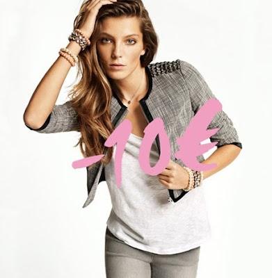 >-10€ sur les vestes chez H&M