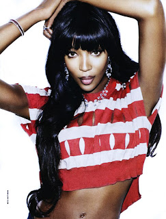 >Hot Shoot | Naomi Campbell pour Vogue Russia