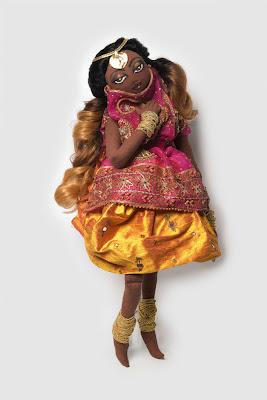"big_doll-example >""The Kouklitas"" | Poupées de chiffons Fashion"