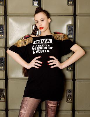 >Na, na, na, Diva is a female version of a hustla