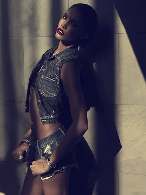 >Sessilee Lopez pour Harper's Bazaar | Jeans, El Regreso