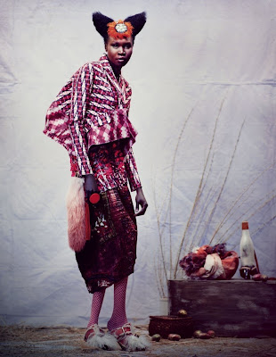 >Alek Wek | The Financial Times Mai 2010