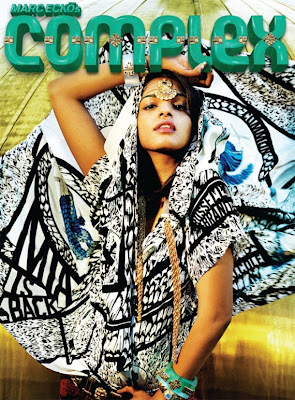 >Back in action | M.I.A en couv' de Complex Mag