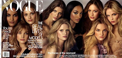 Vogue All Model Cover – Model Muses Tribute