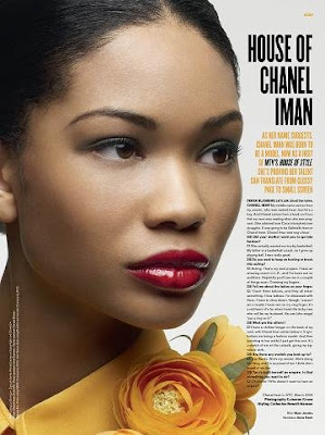 Naomi Campbel & Chanel Iman pour V Magazine – 1st swimsuit issue