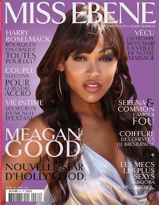 Meagan Good pour Miss Ebène