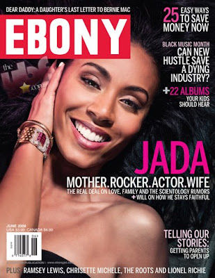 Jada Pinkett Smith en Couv' d'Ebony