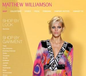 Matthew Williamson Shop Online