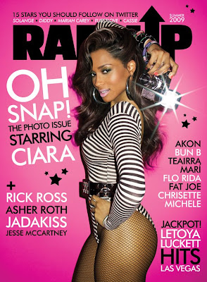 Ciara en Couv » de Rap Up Mag