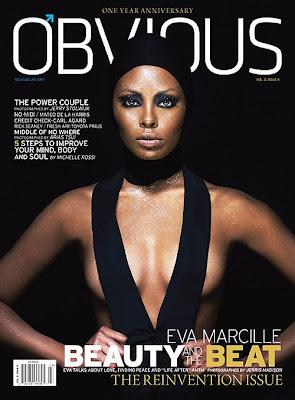 Eva Marcille pour Obvious Magazine