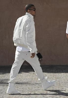 chris3 Diddy & Ashton Kutcher's All White Affair