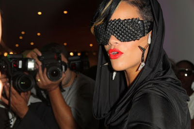 Rihanna Celebrates Fashion's Night Out