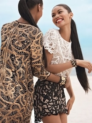 e01c7fc1 Chanel Iman & Jourdan Dunn pour Teen Vogue