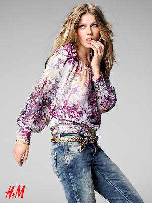Nouvelle campagne pub H&M: Chanel Iman & Masha Novoselova