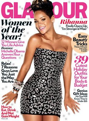 Rihanna en couv' de Glamour Magazine