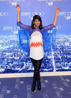 Soirée Jimmy Choo pour H&M à L.A.