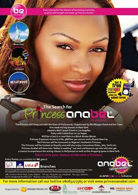 "A la recherche de ""Princess Anabel"" avec Meagan Good"