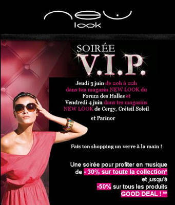 >Soirée V.I.P. New Look