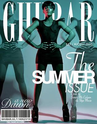 >Dawn Richard en couv' de Ghubar Magazine