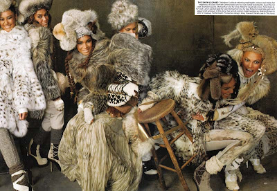 >We Are the World par Steven Meisel pour Vogue US