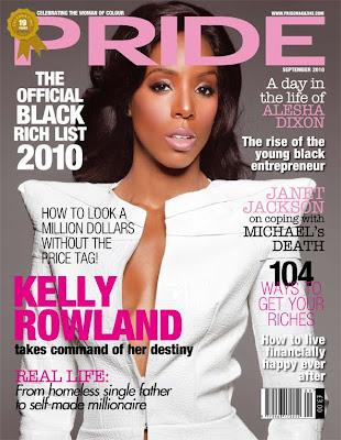 """>Kelly """"Flawless"""" Rowland en couv' de Pride"""