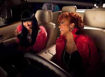 nicki-minaj-and-keyshia-cole >Sorties vidéos : Rihanna, Keri & Keyshia