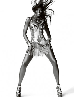 Hot Shoot | Naomi Campbell par Mario Testino