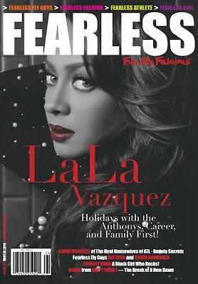 >LaLa Vasquez en couv' du mag Fearless