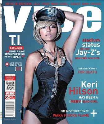 >Keri Hilson en couv' de Vibe Magazine