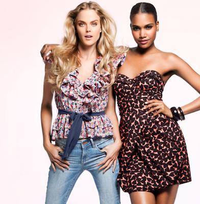 Arlenis Sosa & Shannon Click pour la campagne Sweet Intentions par H&M