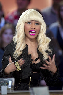 >Nicki Minaj dans Le Grand Journal de Canal+