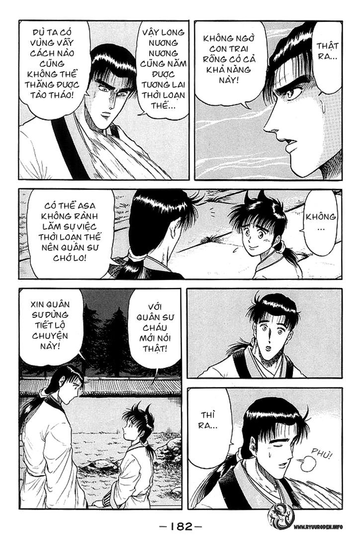 Chú bé rồng-Ryuuroden chap 11 Trang 35 - Mangak.info