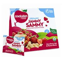 Revolution Foods Jammy Sammy package