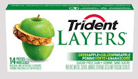 Trident Layers Green Apple Golden Pineapple