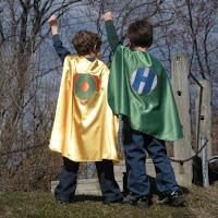 PowerCapes customized superhero cape