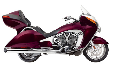2009 Victory Vision Tour Red