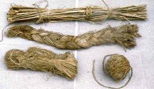 крапива - ткачество