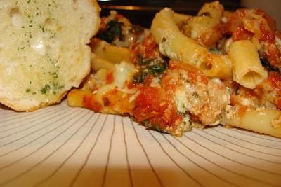Lasagna Style Baked Ziti with Pesto ...
