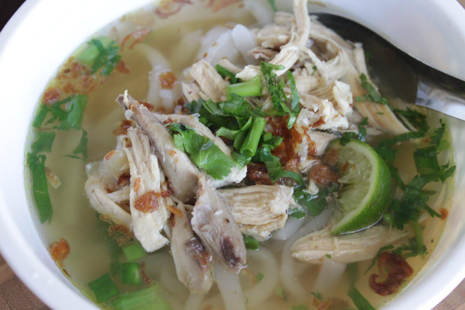 Sticky Rice Noodle Soup