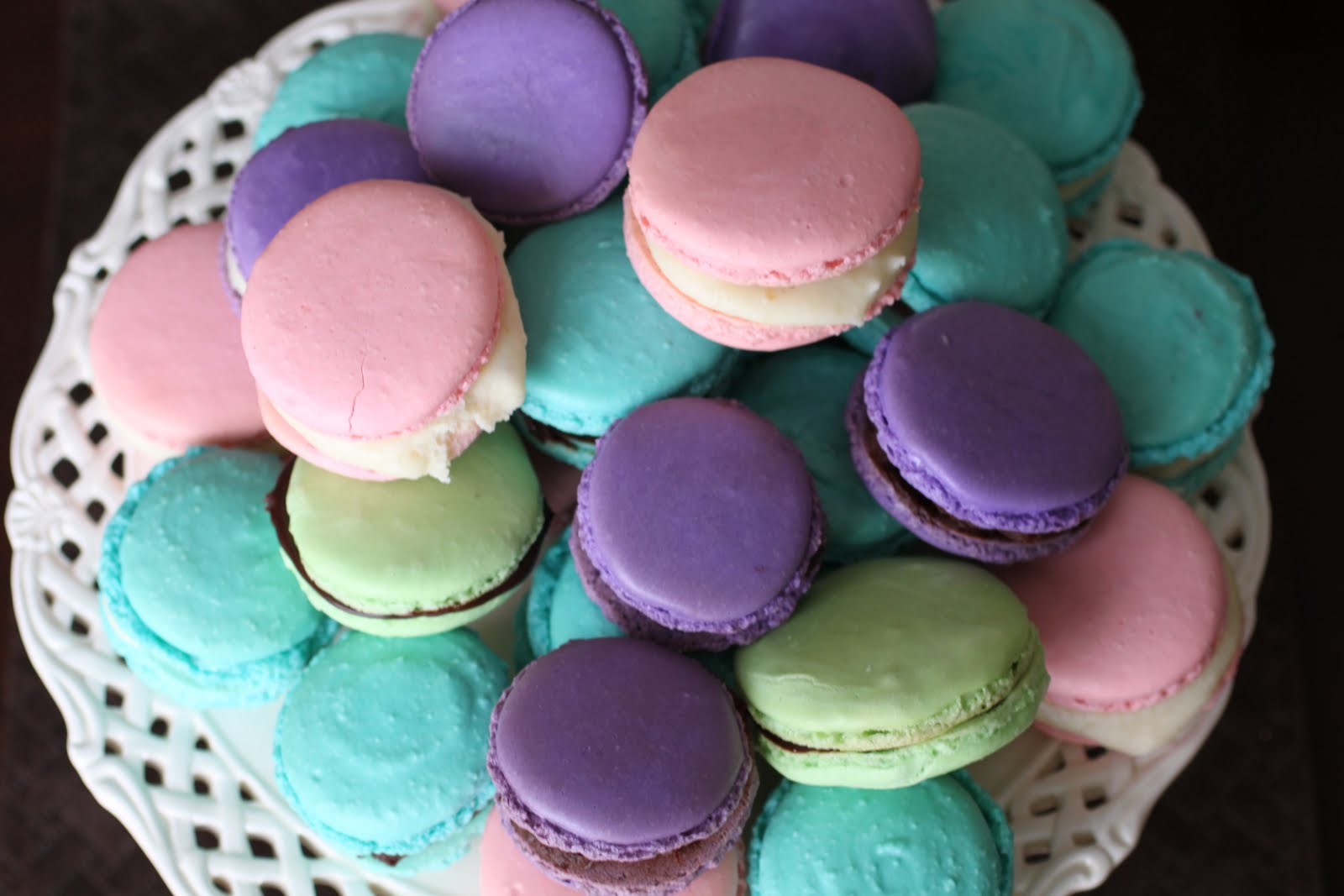 ... and blog about french macarons for quite a while now but as with most