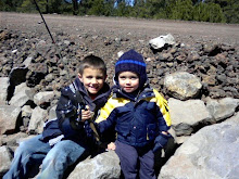 Chase and Brock Out fishing