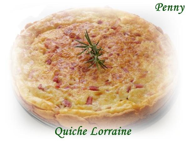 El rinc n de la mariposa quiche lorraine for Ingredientes tipicos de francia