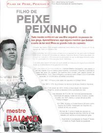 MATERIA NA REVISTA PRATICANDO CAPOEIRA !! COM MESTRE BAIANO E O MESTRE GRANDÃO PAI E FILHO !!