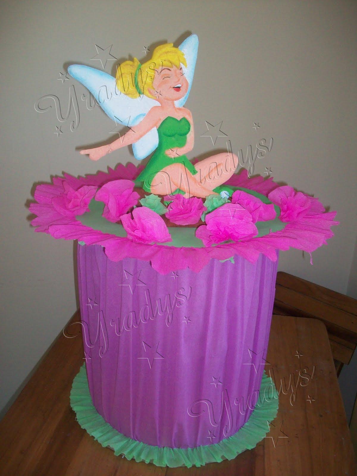 Piñatas de campanita para cumpleaños - Imagui