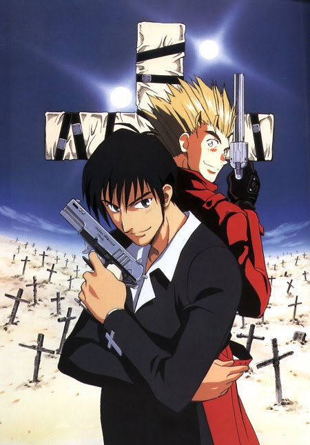 manga wallpaper. Trigun Manga Wallpapers