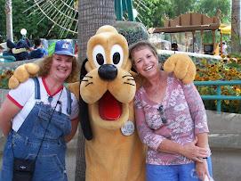 Disneyland in August 2008