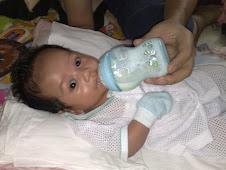 Usia Ajeem 2 bulan 4.2kg