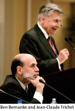 Ben Bernanke and Jean-Claude Trichet