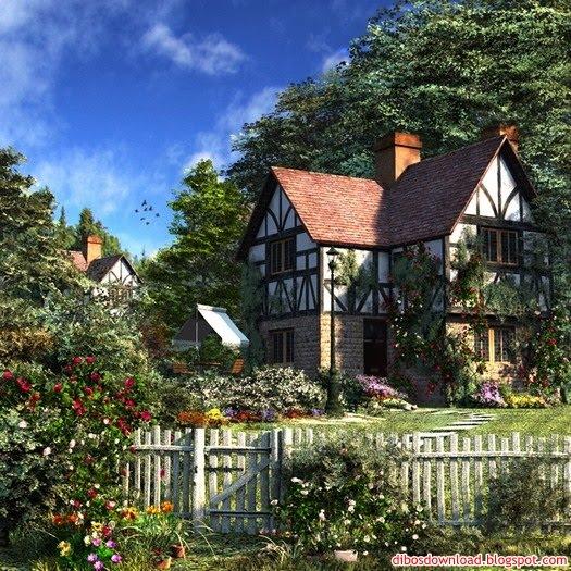 nice house nice garden